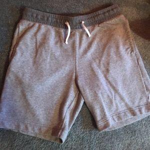 H&M Gray Jogger Shorts